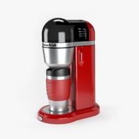 coffee maker 3d max