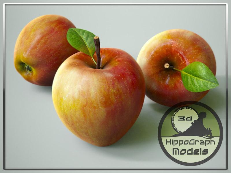 3ds apple subdivision