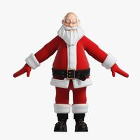 3d funny santa