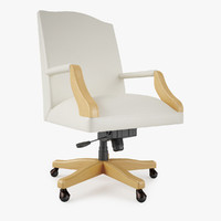 3d steelcase mansfield chair