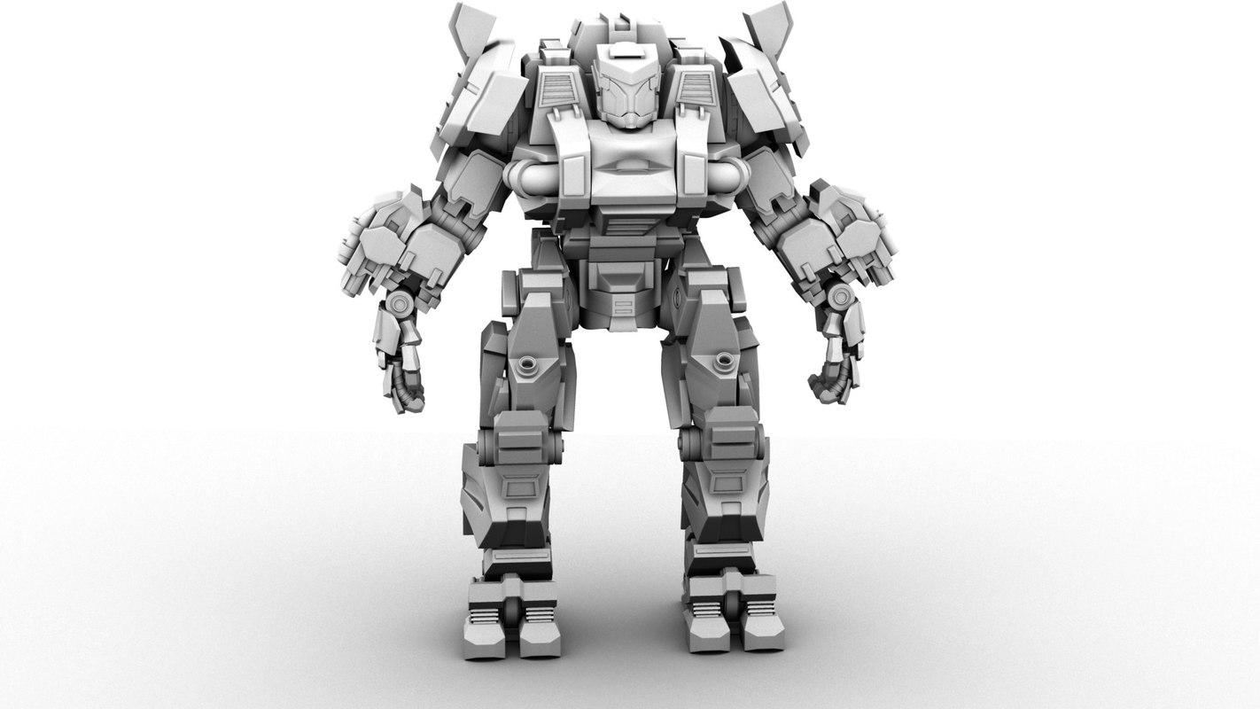 robot alko 3d max