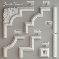 Molding with corner elements Gaudi Decor