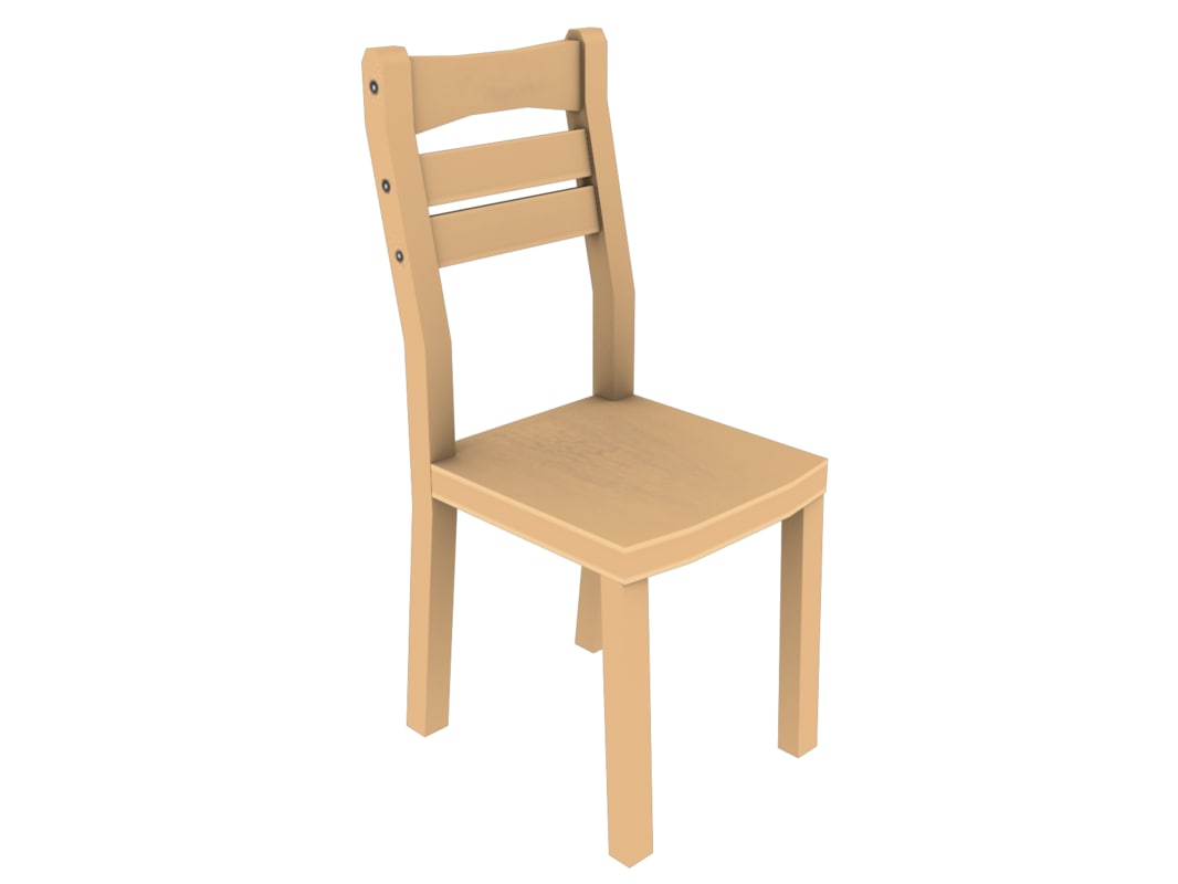 free awesome chair 3d model
