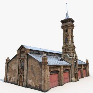 c4d firehouse