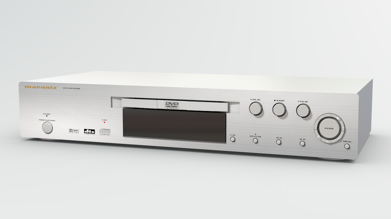 marantz dvd player 3d obj