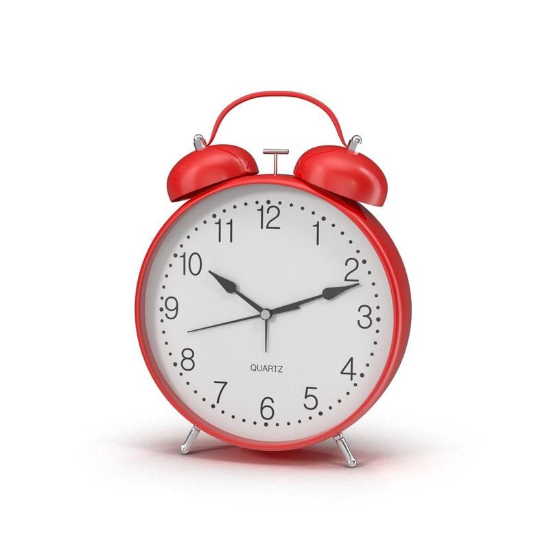 3ds max alarm red
