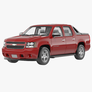 chevrolet avalanche 2014 simple 3d max
