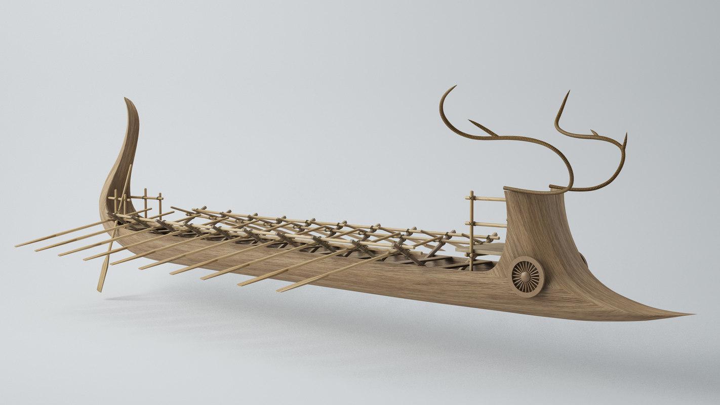 max warship ancient ship minos