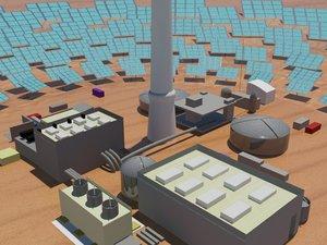 maya solar power sahara desert