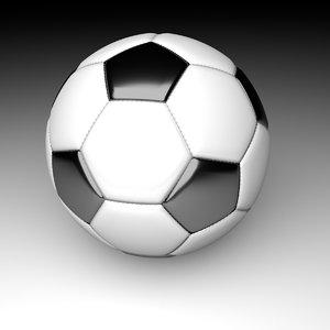 3d basic football model