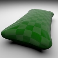 simple pillow 3d blend