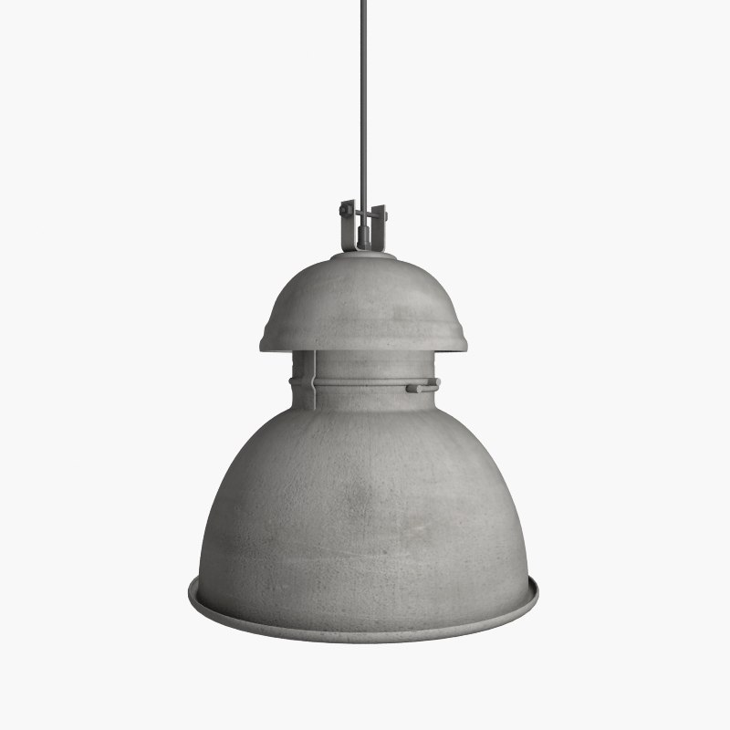 warehouse lamp 3d model