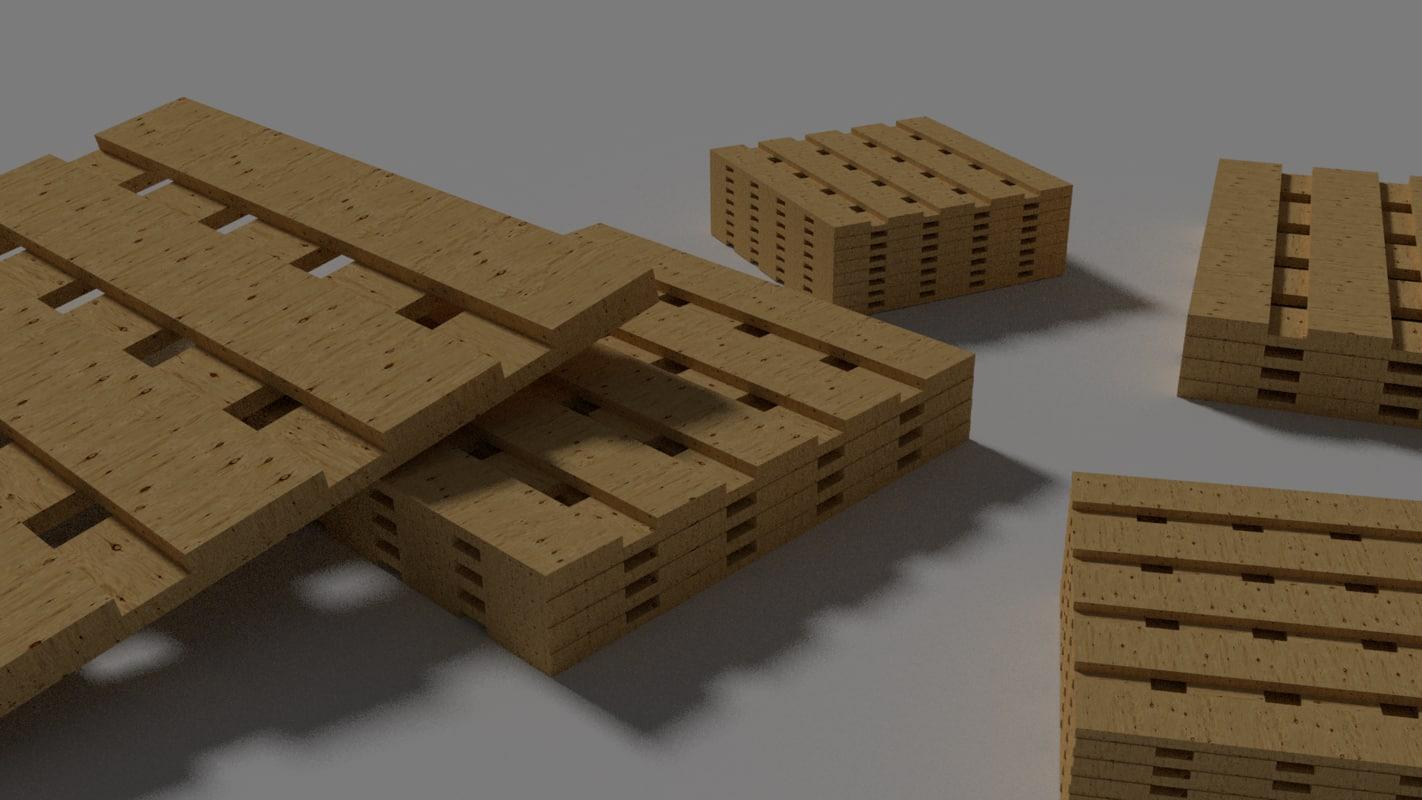 3d plywood pallets crates