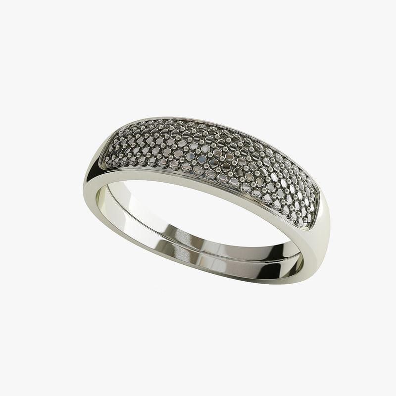 3d model of wedding ring v2