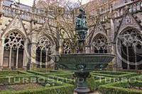 Churchyard in Utrecht