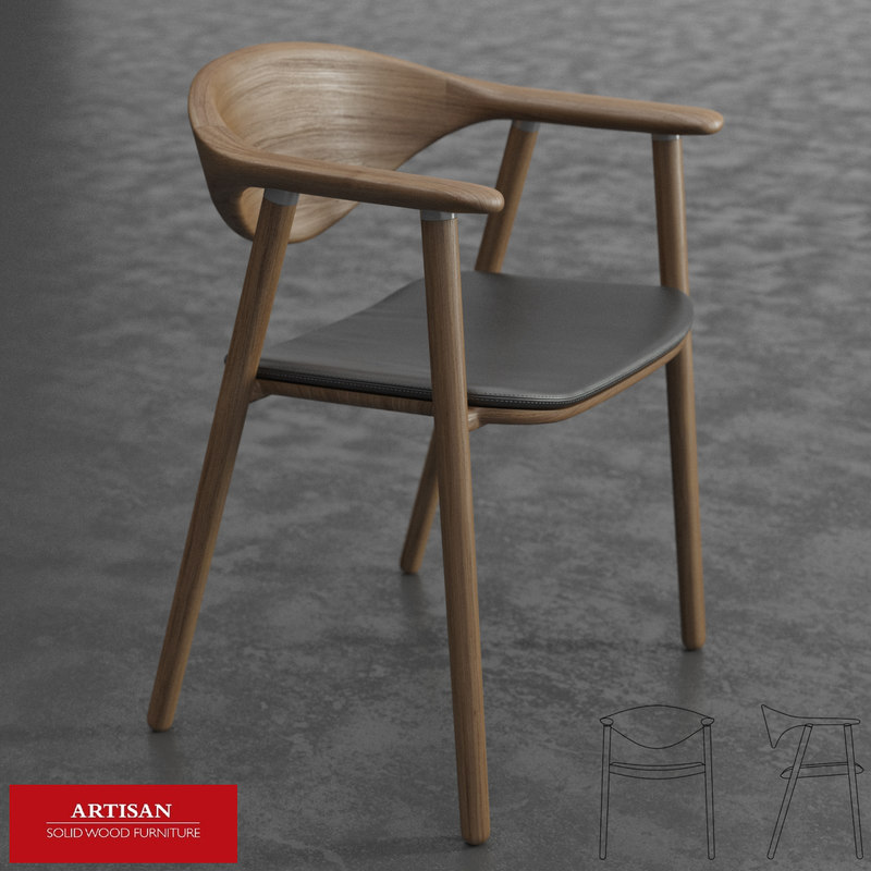 3d max artisan naru chair