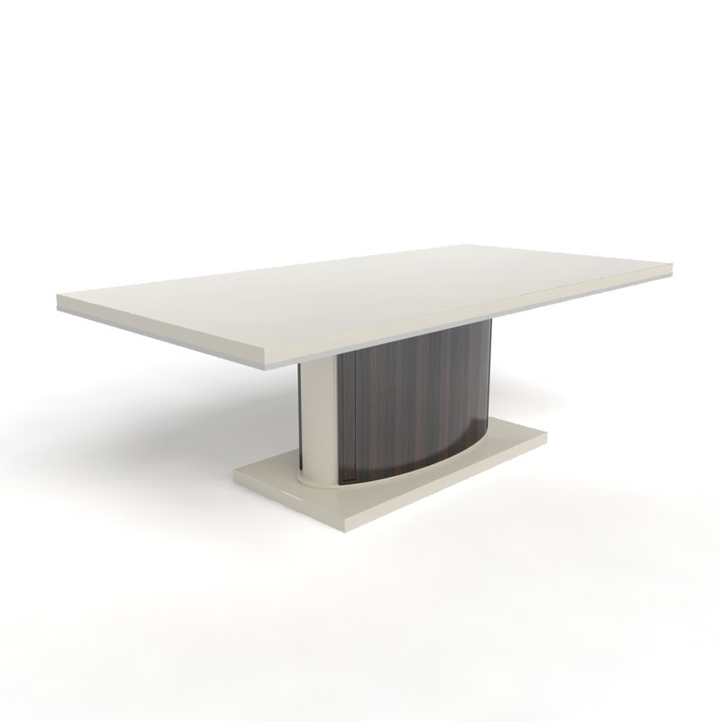 table factory turri contemporary 3d max