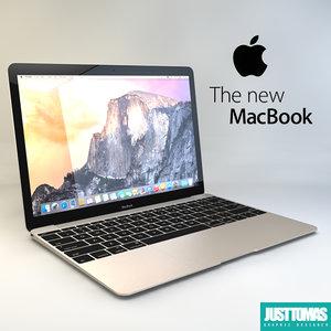 apple macbook 2015 c4d