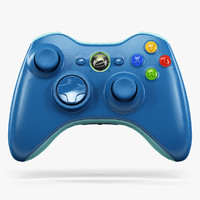 Microsoft Xbox 360 Wireless Controller Blue