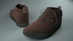 3ds max men s shoes