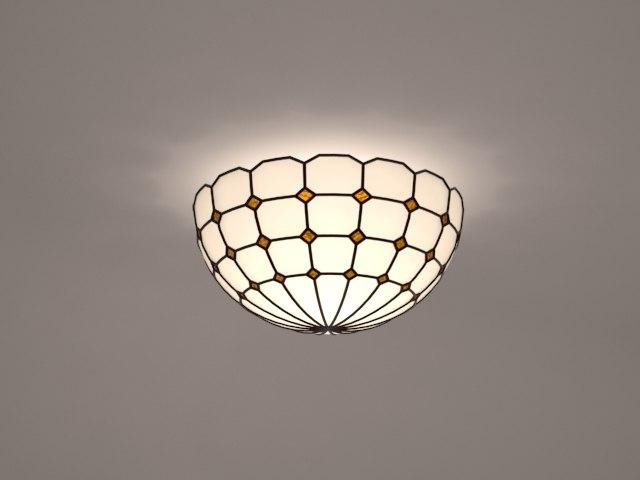 3dsmax tiffany lamp