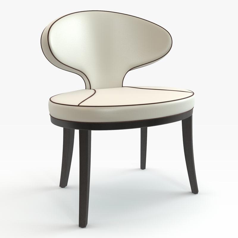 3d chair italian