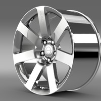 3d chrysler 300 srt8 rim model