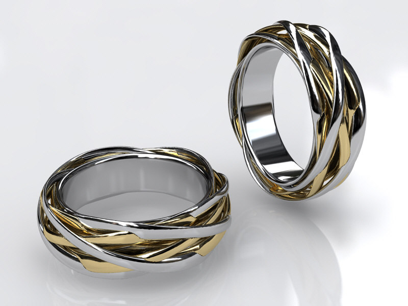 ring knotted 3d 3ds