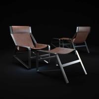 3d toro-lounge-chair