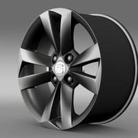 seat mii vibora negra 3d model