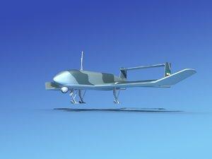 mohajer uav drone 3ds