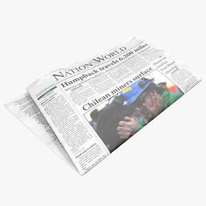 newspaper 2 3d 3ds