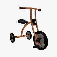 kids tricycle 3d max