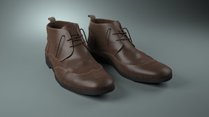 3d leather man s shoes