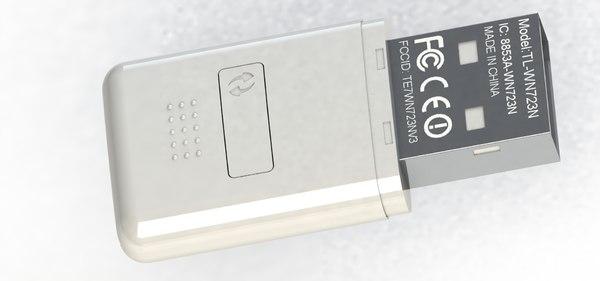free mini adapter 3d model