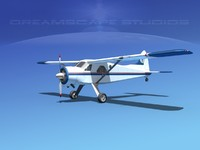 3d dehavilland beaver civil air model