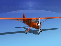 3ds max dehavilland beaver army 1