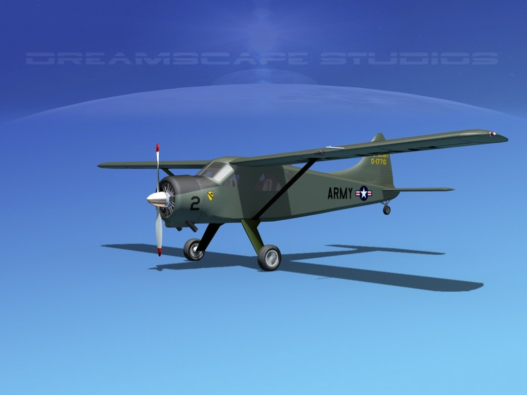 3d dehavilland beaver army