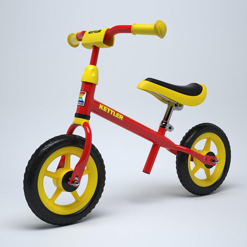 3d children s bike kettler