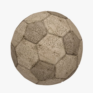 3d football soccer ball