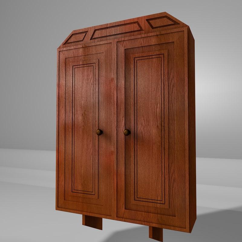 wall cabinet 3d model