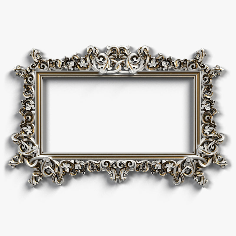 Picture Frame 3D Models for Download | TurboSquid