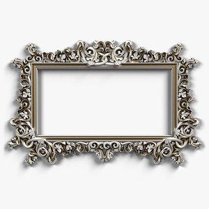 3d frame designed
