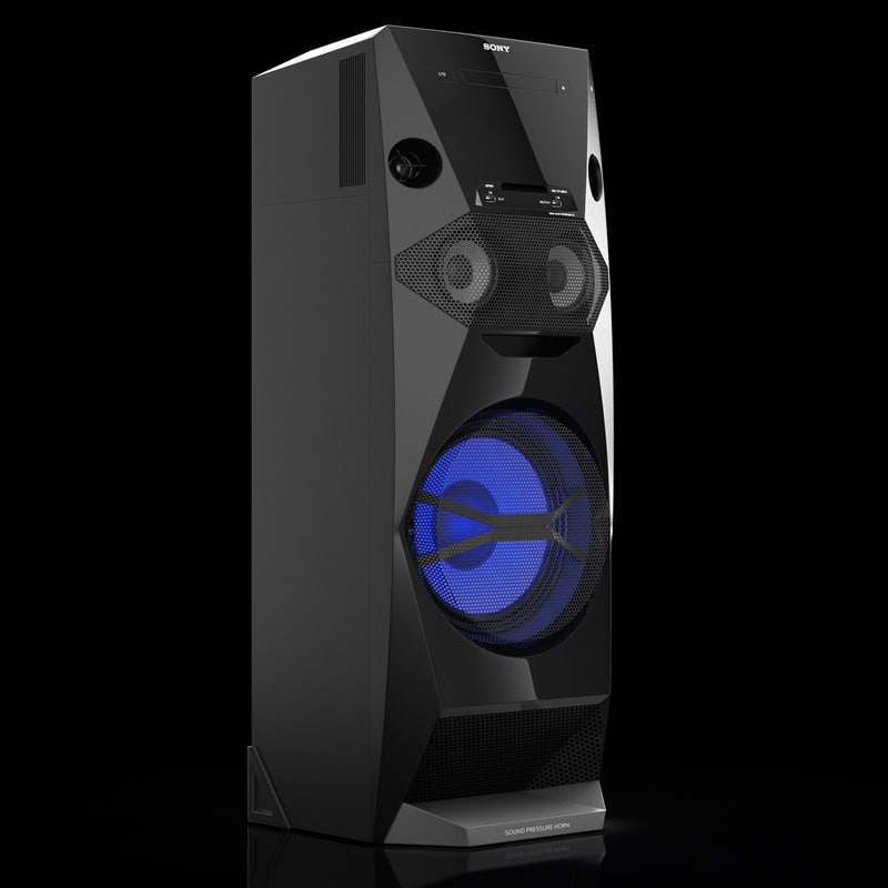 sony mhc-v5 3d model