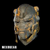 MechGear Futuristic Helm