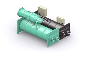 centrifugal chiller 3d 3ds