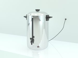 3ds max hot water percolator