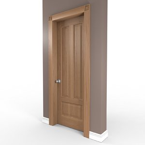 3d panel door