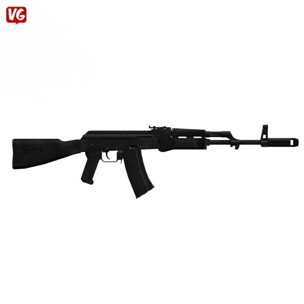 assault rifle x