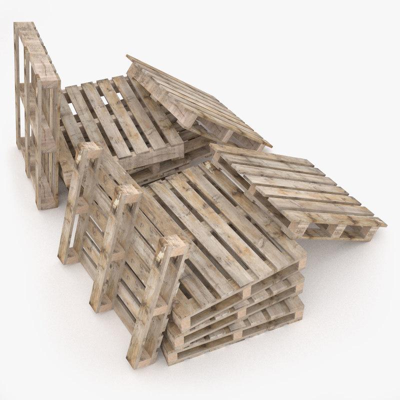wooden 4 2 ways 3d model